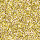 Glitter golden seamless texture. Royalty Free Stock Photo