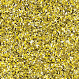 Glitter golden seamless texture. Stock Photos