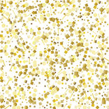 Glitter golden seamless texture. Royalty Free Stock Photography