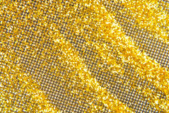 Glitter golden sparkle confetti Royalty Free Stock Photos