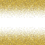 Glitter golden texture. Royalty Free Stock Images