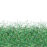 Glitter green texture. Royalty Free Stock Image