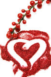 Glitter heart Royalty Free Stock Image