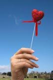 Glitter heart Stock Images