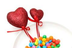 Free Glitter Hearts Stock Photography - 485192