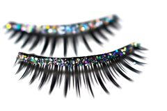 Glitter Lashes stock images