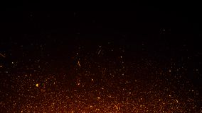 Glitter lights background. Abstract fire particles lights texture or background overlays. Design element royalty free stock images