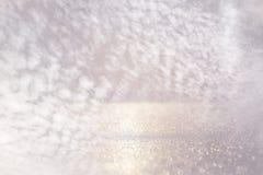 Glitter lights background. de-focused Royalty Free Stock Image