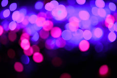 Glitter lights background. Holiday bokeh texture. Multicolored light Stock Photography