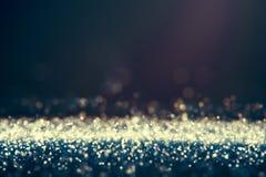 Glitter lights defocused background Stock Image