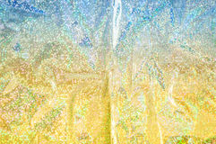 Glitter lights gold abstract background. Royalty Free Stock Photography