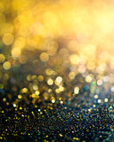 glitter lights grunge background, glitter defocused abstract Twinkly Lights and glitter Stars Christmas light Background. royalty free stock images