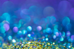 Glitter natural bokeh background Stock Photography