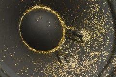 Glitter On Speaker Stock Photo
