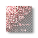 Glitter pink background Royalty Free Stock Photography