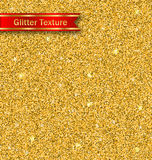 Glitter Seamless Pattern, Golden Luxury Wallpaper Royalty Free Stock Photo