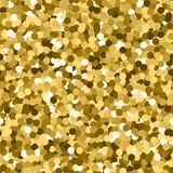 Glitter seamless texture. Actual gold particles. Endless pattern made of sparkling circles. Bewitchi. Ng abstract vector illustration vector illustration