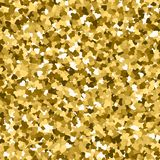 Glitter seamless texture. Actual gold particles. Endless pattern made of sparkling hearts. Magnifice. Nt abstract vector illustration vector illustration