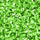 Glitter seamless texture. Actual green particles. Endless pattern made of sparkling circles. Charmin. G abstract vector illustration vector illustration