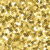 Glitter seamless texture. Admirable gold particles. Endless pattern made of sparkling sequins. Beaut. Eous abstract vector illustration royalty free illustration