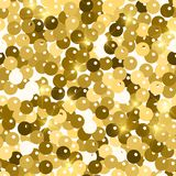 Glitter seamless texture. Admirable gold particles. Endless pattern made of sparkling spangles. Love. Ly abstract vector illustration vector illustration