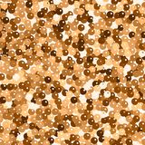 Glitter seamless texture. Admirable red gold particles. Endless pattern made of sparkling spangles. Splendid abstract vector illustration vector illustration