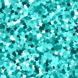 Glitter seamless texture. Adorable emerald particles. Endless pattern made of sparkling squares. Actual abstract vector illustration royalty free illustration