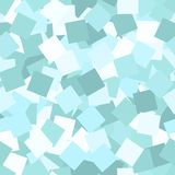 Glitter seamless texture. Adorable mint particles. Endless pattern made of sparkling squares. Charmi. Ng abstract vector illustration royalty free illustration
