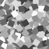 Glitter seamless texture. Adorable silver particles. Endless pattern made of sparkling squares. Fasc. Inating abstract vector illustration stock illustration