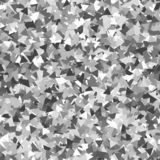Glitter seamless texture. Adorable silver particles. Endless pattern made of sparkling triangles. Su. Rprising abstract vector illustration stock illustration