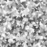 Glitter seamless texture. Adorable silver particles. Endless pattern made of sparkling triangles. Sy. Mmetrical abstract vector illustration vector illustration