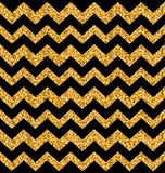 Glitter Seamless Zigzag Texture Royalty Free Stock Image
