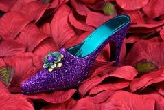 Glitter Shoe Royalty Free Stock Photo