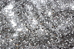 Glitter silver background Royalty Free Stock Images