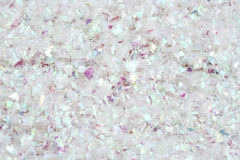 Glitter snow background Stock Images