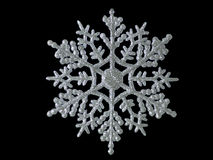Glitter snow flake Royalty Free Stock Photography