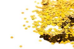 Glitter sparkles dust Stock Image