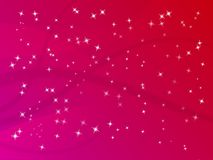 Glitter Star Background Stock Images