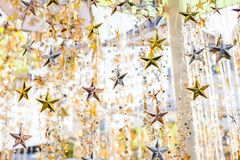 Glitter star texture, shiny star background. stock photography