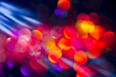 Glitter with Sun Rays. Glitter abstract background with bokeh defocused with natural sun rays royalty free stock image