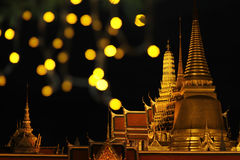 Glitter temple Stock Photo