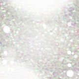 Glitter texture with glows and bokeh Royalty Free Stock Images