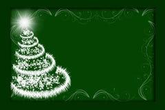 Glitter Tree Royalty Free Stock Photos