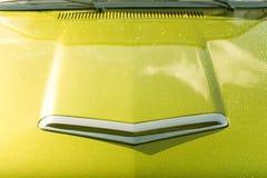 Glitter vehicle hood Stock Photos