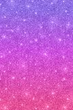 Glitter vertical texture with purple pink color effect. Glitter vertical texture with purple pink color gradient Royalty Free Stock Image