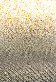 Glitter vintage golden lights background. Beautiful Christmas Gl. Ittering sparkles dust on background, shallow DOF Royalty Free Stock Photo