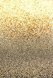 Glitter vintage golden lights background. Beautiful Christmas Gl Stock Photo