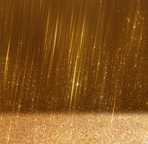 Glitter vintage lights background. abstract gild background. defocused Royalty Free Stock Photos