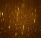 Glitter vintage lights background. abstract gold background. defocused.  Royalty Free Stock Photography