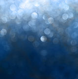 Glitter vintage lights background. blue and purple. defocused Stock Photo